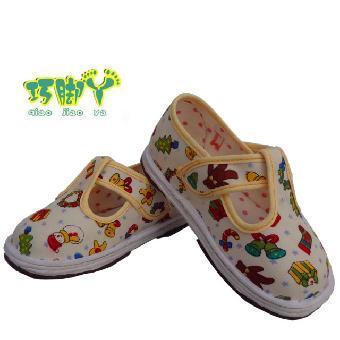 女孩单鞋纯棉儿童手工布鞋