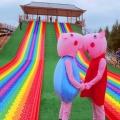 戶外樂園彩虹滑道設計施工