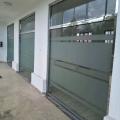 北京办公室阳台玻璃隔断贴膜LOGO设计上门测量
