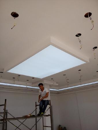 灯带发光膜 灯箱发光膜 灯槽发光膜 吊顶材料