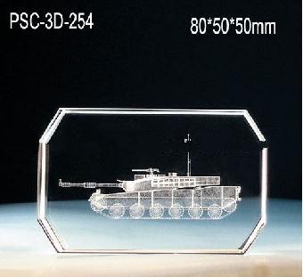 郑州水晶内雕工艺品,创意周年庆纪念品
