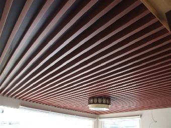 生态木,绿可木,生态木地板,木塑装饰板,吊顶效果图,天花