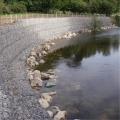 鍍鋅覆塑鉛絲籠防洪防汛鉛絲石籠河道溝渠護岸鉛絲籠