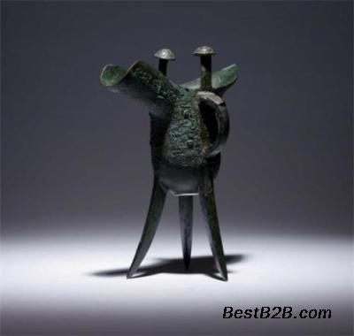 华豫之门古钱币美容视频兽面纹爵杯鉴定青铜日式图片