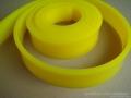50*7丝印刮胶 圆口平口聚氨酯印刷胶条