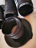 折疊式壓濾機油缸防護罩,油缸活塞桿伸縮護套