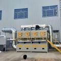 催化燃燒設備處理有機廢氣吸附濃縮過程
