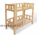 学生实木高低床 江油实木高低床定做