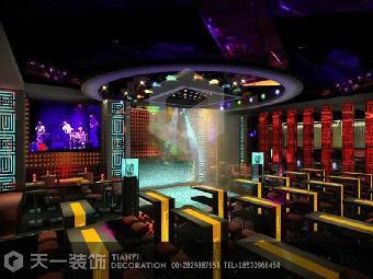 濮阳大型酒吧ktv装修设计案例效果图片