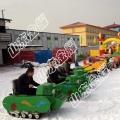 不迷信,只迷雪地坦克车 双人坦克车 户外游乐设备