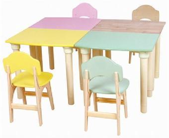 太阳幼教,幼儿园实木桌椅,幼儿园实木桌椅代理加盟