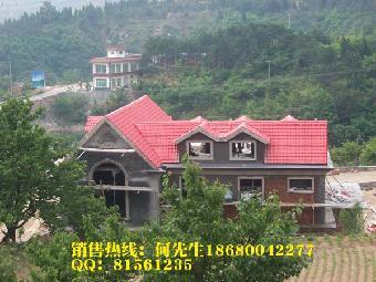 别墅 渭南 榆林 延安/陕西渭南树脂瓦别墅瓦延安屋面修建工程榆林树脂瓦