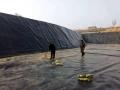 南陽養豬場1.5mm黑膜沼氣池 豬舍化糞池污水處理