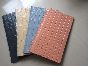 该板材安装在轻钢结构的建筑上,整体性强,抗震防裂,坚固安全.