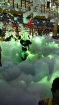 北京大型泡沫机喷射式泡沫机地产暖场泡沫机泡沫之夏