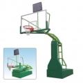 專業生產電動液壓籃球架廠家