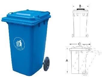 北海塑料垃圾桶,北海移动垃圾桶批发