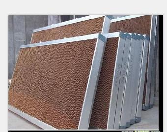 供应 湿帘降温系统 水帘铝合金边框 温室降温