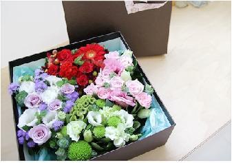 精品花束 鲜花礼盒设计制作