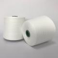 纯大化涤纶纱21s环锭纺涤纶纱21支本白色现货