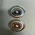 龙岗不锈钢手表底盖激光打标机铝材称重传感器激光镭雕
