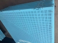 實體廠家爬架網 建筑安全擋板 米字型爬架網