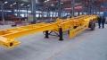 8.5米的集裝箱半掛骨架銷售部報價歡迎咨詢