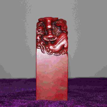 印章 鸡血石/关键字:大红袍鸡血石印章鉴定知识大红袍鸡血石印章真实价格...