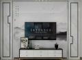 竹木纖維護墻板和背景墻3d畫