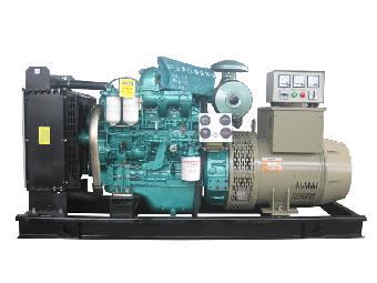 发电机是由磁铁系统,在磁性材料上绕有电流线圈的