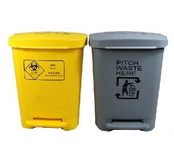 佛山医用垃圾桶找麦穗30l脚踏医疗塑料垃圾桶