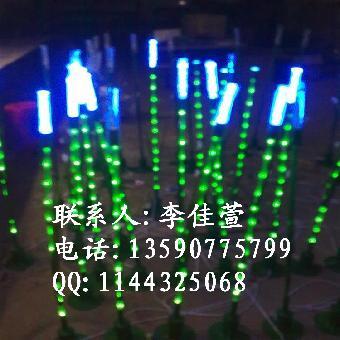 县城街道树木亮化 led发光树灯 led芦苇灯