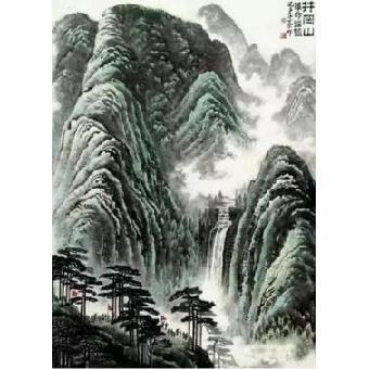 擅画花卉,山水,尤以写意山水被人称道,日渐成为当代中国画坛备受推崇