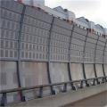 高速公路声屏障供应玻璃钢隔音墙 小区室外降噪隔音板