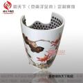 養生足翁艾蒸腿甕養生神器負離子蒸腳缸活瓷能量蒸腿桶