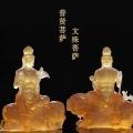 琉璃白度母绿度母菩萨生产厂家琉璃文殊普贤菩萨批发价