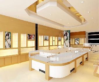 郑州眼镜店装饰公司装修店面怎样才能做到吸晴