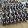 大直徑單片錳鋼螺旋葉片 不銹鋼無軸蛟龍葉片廠家訂制