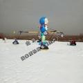 强烈的吸引人气雪地转转 高级旋转类滑雪场设备 冰雪