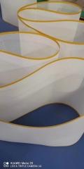 熔噴布專用輸送帶批發采購耐高溫特氟龍網格傳動帶廠家