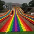 七彩彩虹滑道嗨到尖叫
