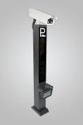 停车场收费系统小区门禁道闸自动升降车辆出入车牌识别