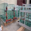 超白玻璃魚缸各種辦公室家庭客廳魚缸水族箱長方形底濾
