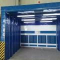 自動伸縮房 伸縮移動噴漆房 大型噴漆房設備