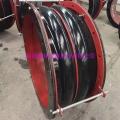圓形風道橡膠補償器DN700補償器定制生產廠家