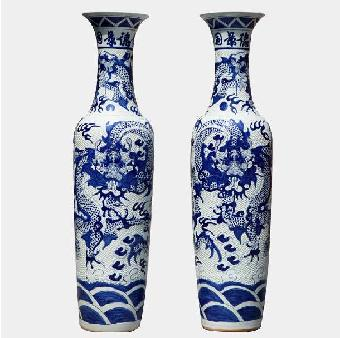高档陶瓷礼品保温杯,高档装饰陶瓷大缸,手绘青花瓷大花瓶,收藏品陶瓷
