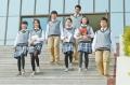 新款校服套裝學院風英倫風初高中學生班服