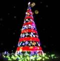 光辉灿烂圣诞树全国出租出售玫瑰花海灯光节出租出售