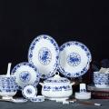 定制陶瓷禮品餐具青花釉下彩餐具套裝