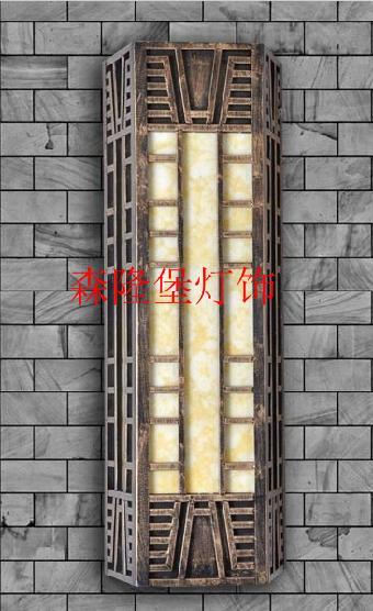 云石壁人造石欧式灯饰品牌森隆堡灯饰供应多款个性壁灯
